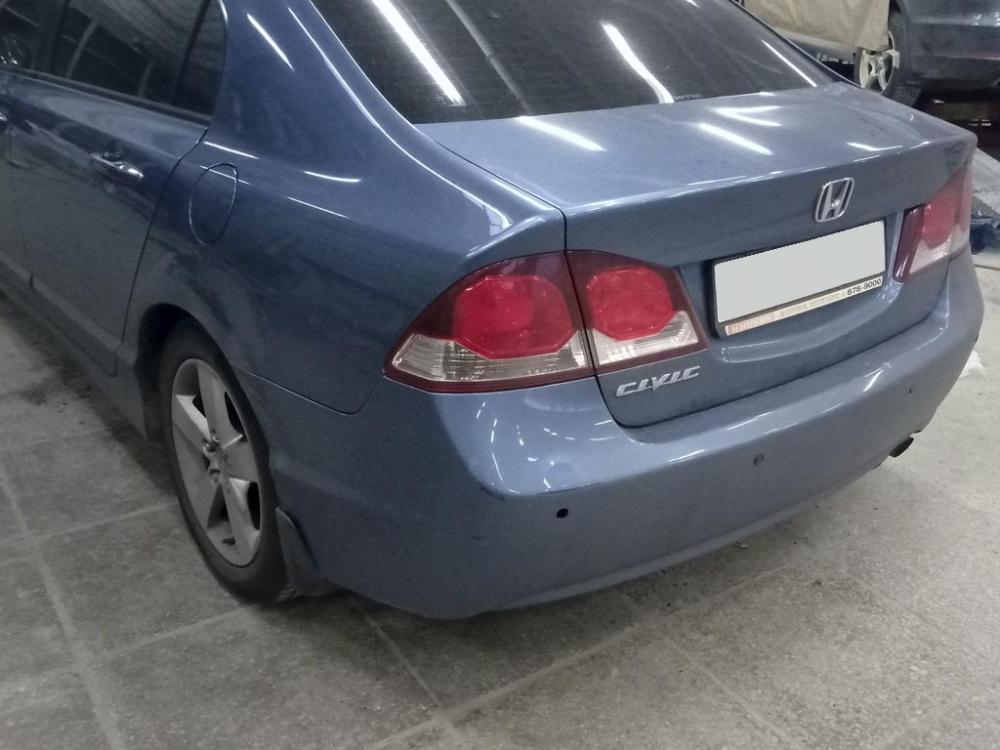 Внешний вид автомобиля до кузовного ремонта и покраски